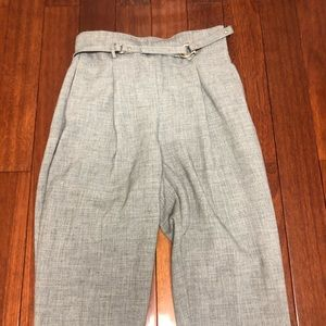 Zara Grey Slacks with Belt